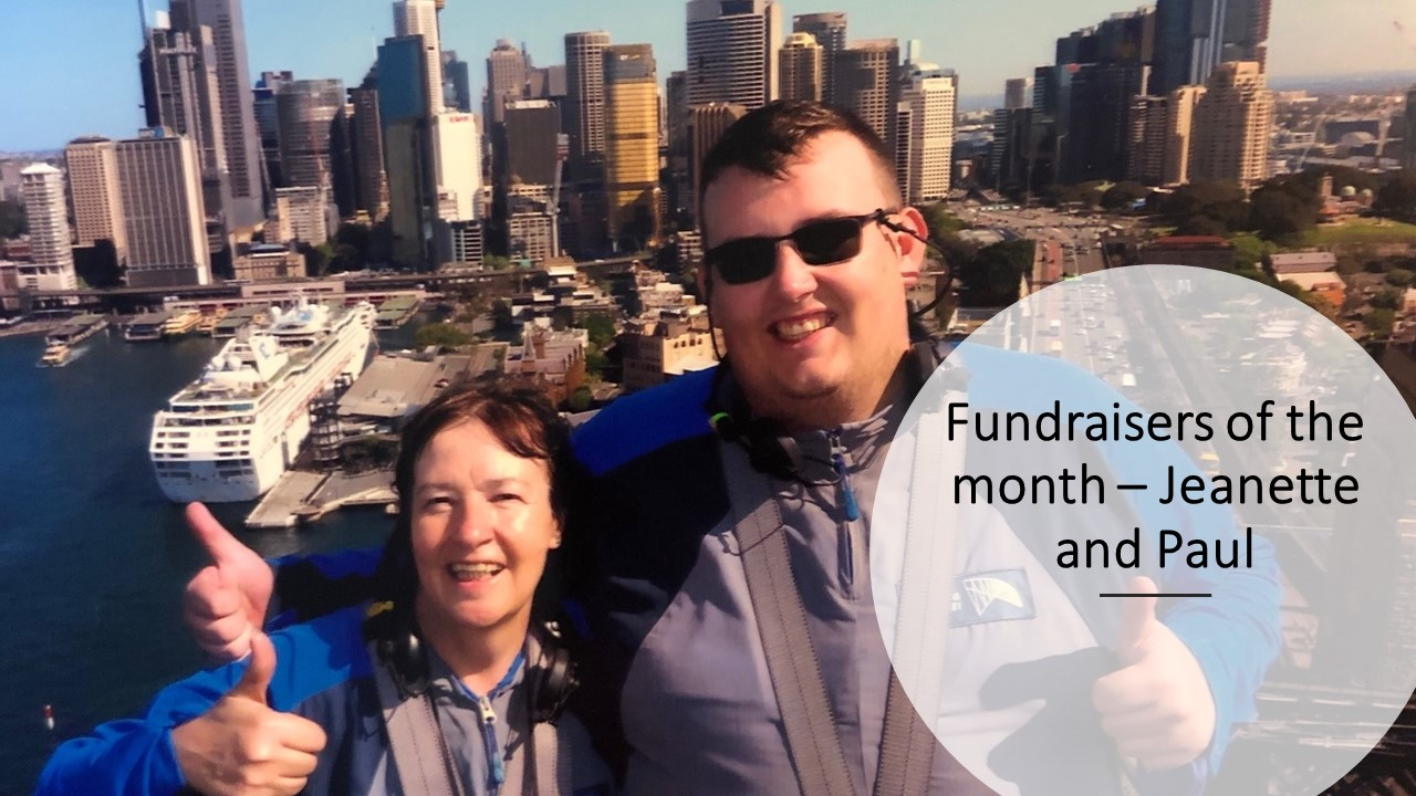 Fundraiser of the month - Paul